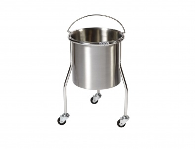 Bucket stand with bucket, 18 litre capacity [Sun-TBKS01]