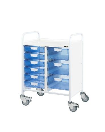 Vista Trolleys And Storage Sunflower Medical