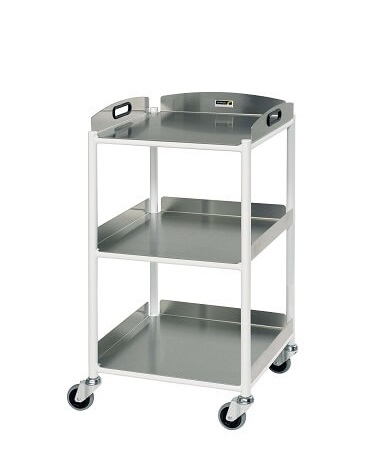 DT4 Dressing Trolleys with Stainless Steel Trays