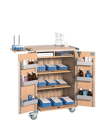 Monitored Dosage System (MDS) Trolleys