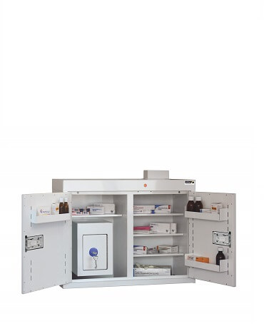 Medicine Cabinets with Controlled Drug Inner Cabinets