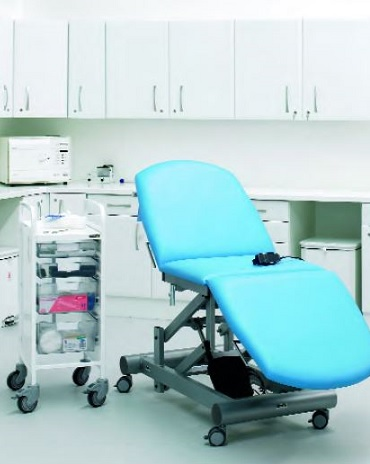 'High Gloss' White Finish Medical Wall and Base Units