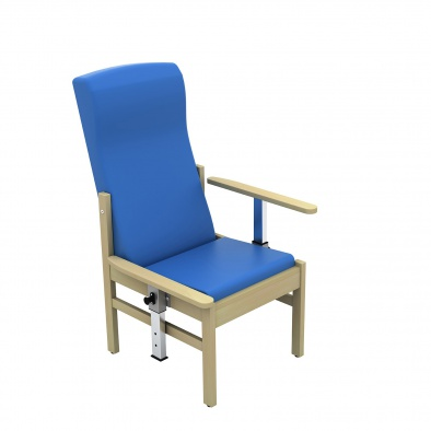 Atlas Patient High Back Arm Chair with Drop Arms [Sun-CHA51DA]