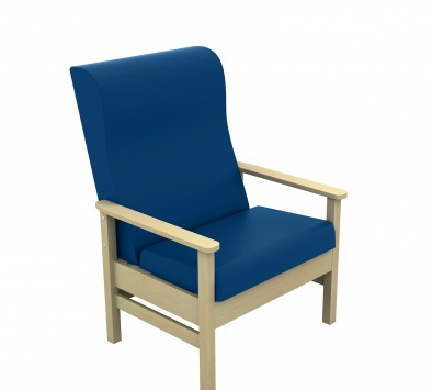 Atlas High Back 40st Bariatric Arm Chair [Sun-CHA55]