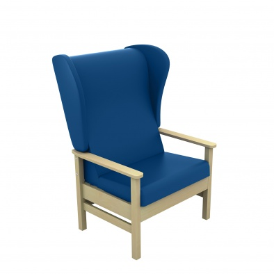 Atlas High Back 40st Bariatric Arm Chair with Wings [Sun-CHA56]
