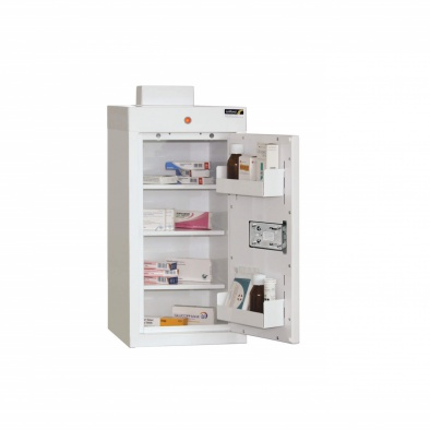 Medicine Cabinet - 3 shelves/2 door trays/1 door [Sun-MC1]