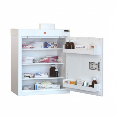 Medicine Cabinet - 3 shelves/2 door trays/1 door [Sun-MC2]