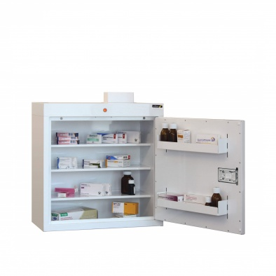 Medicine Cabinet - 3 shelves/2 door trays/1 door [Sun-MC3]