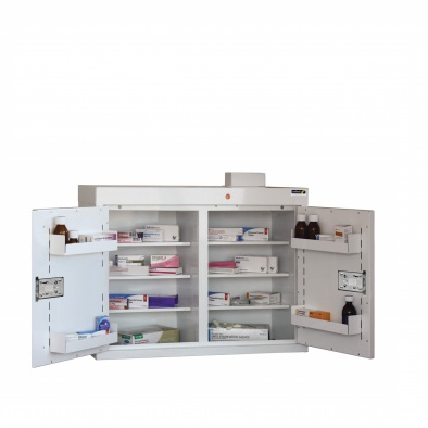 Medicine Cabinet - 6 shelves/5 door trays/2 doors [Sun-MC4]