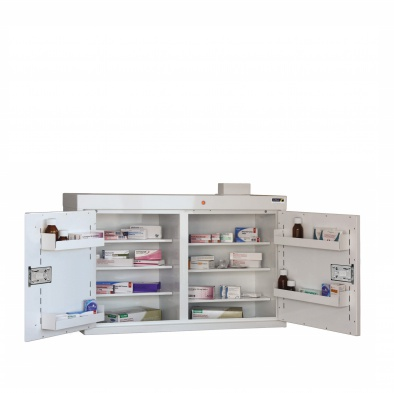 Medicine Cabinet - 6 shelves/5 door trays/2 doors [Sun-MC5]