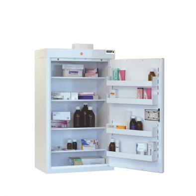 Medicine Cabinet - 4 shelves/4 door trays/1 door [Sun-MC6]
