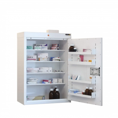 Medicine Cabinet - 4 shelves/4 door trays/1 doors [Sun-MC7]