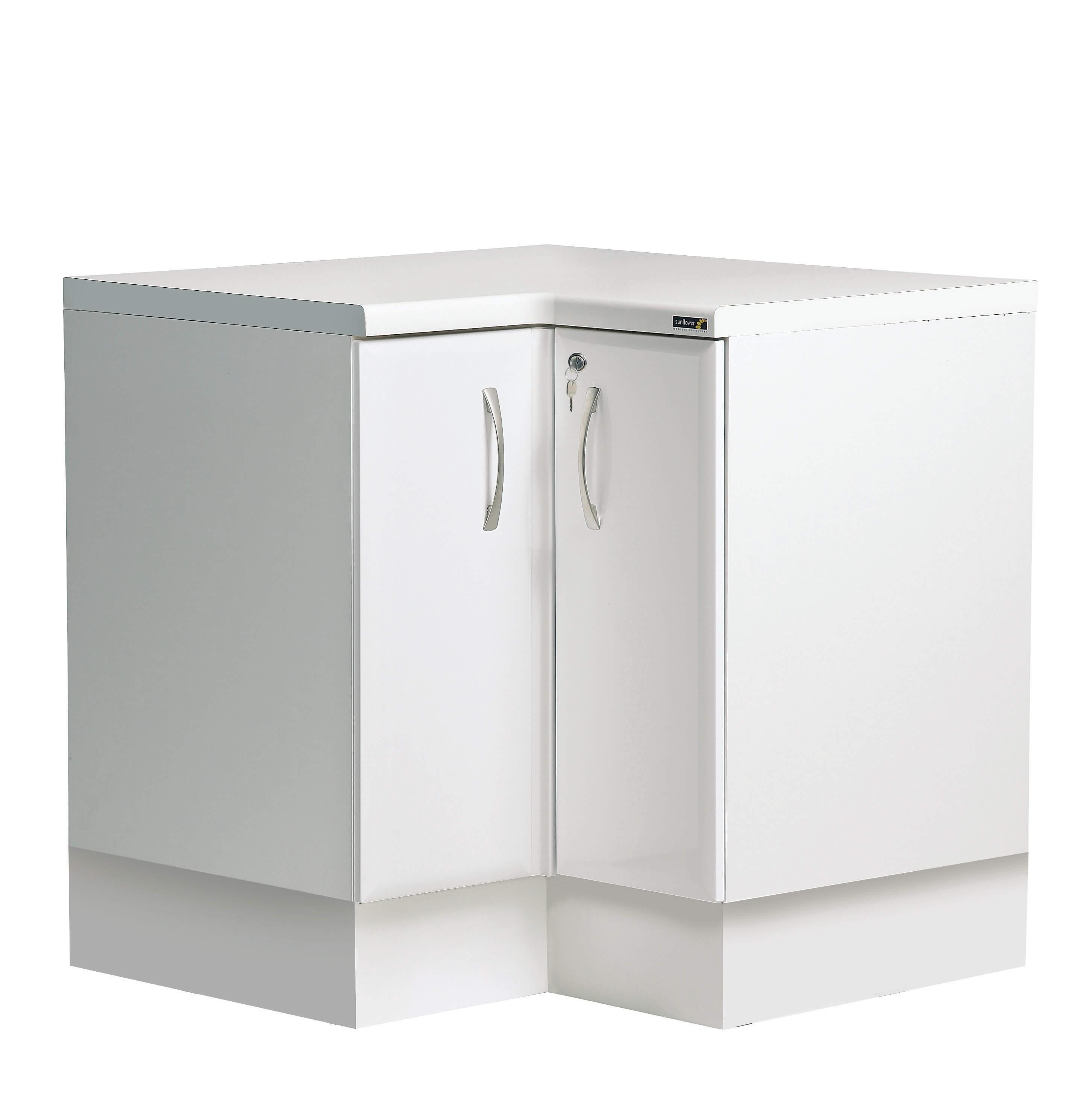 'L' Shaped Corner Base Cabinet