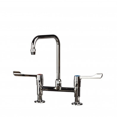 (General Healthcare) Traditional Twin Lever Mixer Tap [Sun-TAP5]
