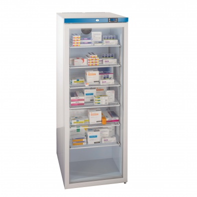 400 Litre Free Standing, Glass Door Fridge - 6 Shelves [Sun-FRIDGE18]
