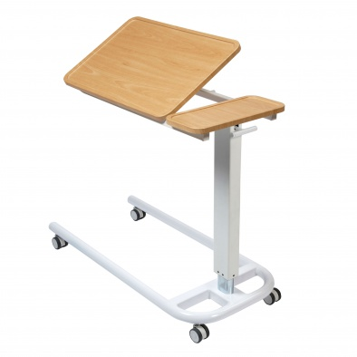 Overbed/Overchair Table with Parallel Base and Recessed Tilting Top [Sun-OBT6P/VW/T]