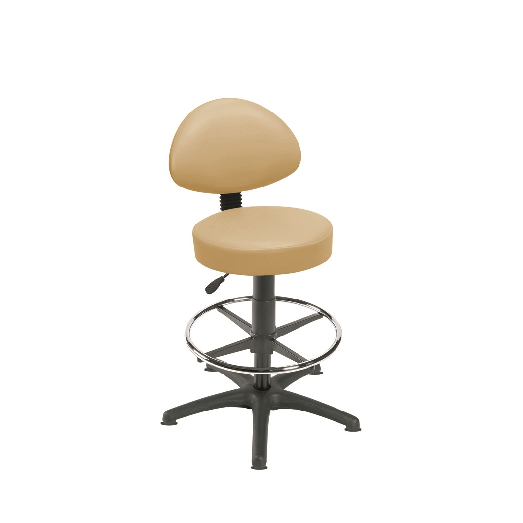 Examination Stools with Back Rests