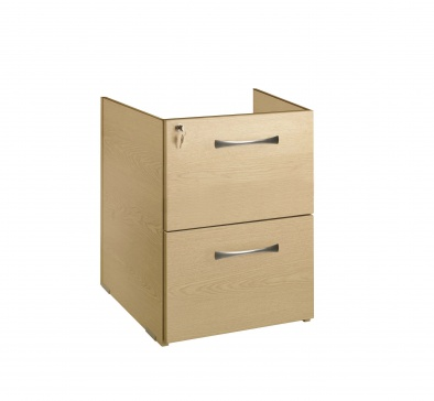 2 Drawer suspended/fixed under desk pedestal [Sun-FPED1]