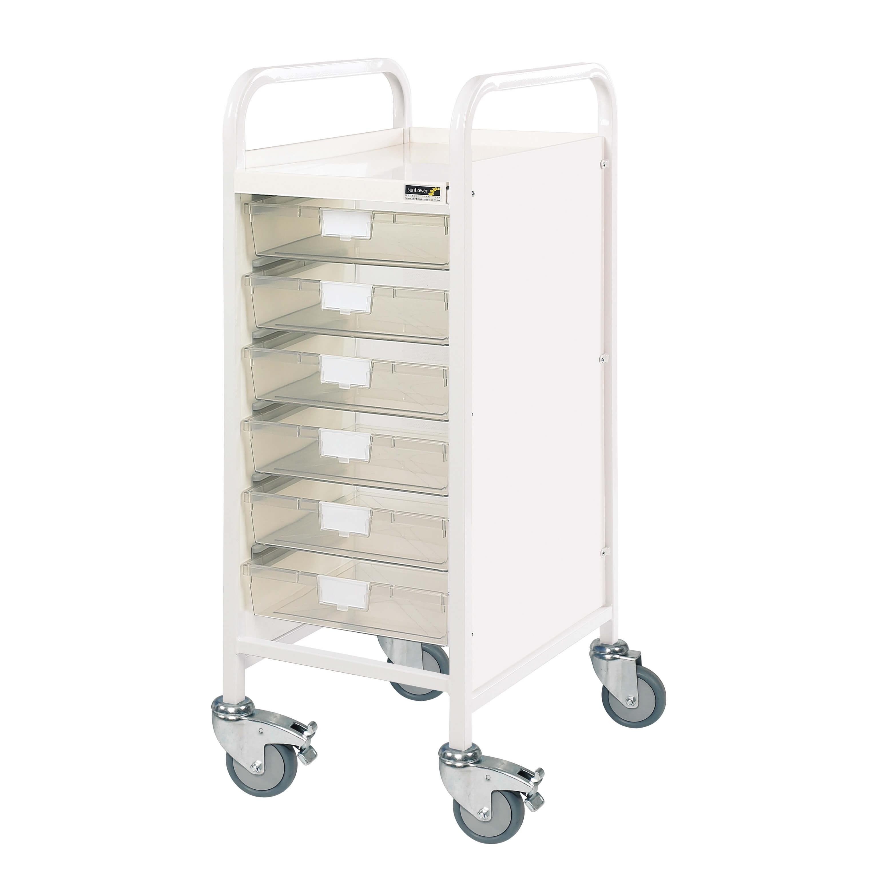 VISTA 30 Trolley with 6 Single Trays [Sun-MPT10]