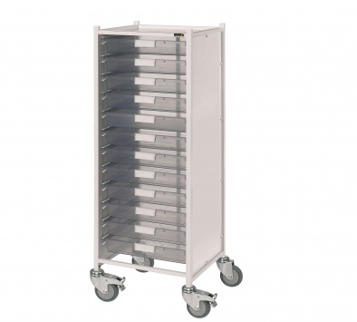 VISTA 120 Trolley with 12 Single Trays [Sun-MPT120]
