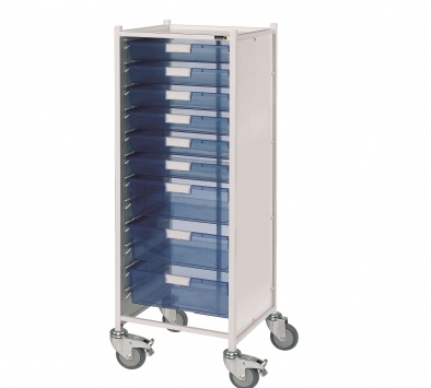 VISTA 120 Trolley with 6 Single & 3 Double Trays [Sun-MPT121]