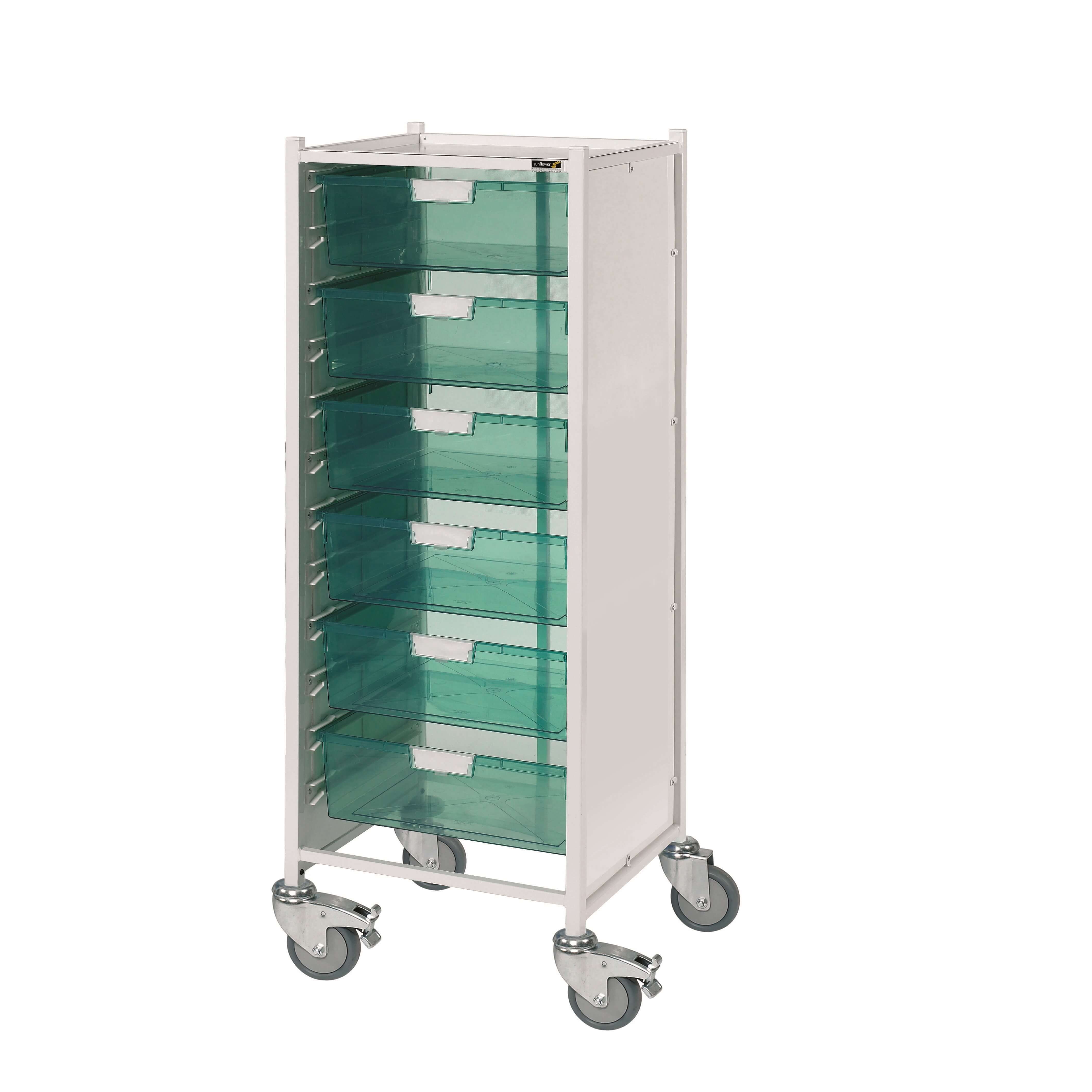 VISTA 120 Trolley with 6 Double Trays [Sun-MPT122]