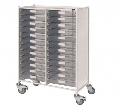 VISTA 240 Trolley with 24 Single Trays [Sun-MPT240]