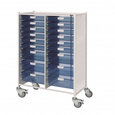 VISTA 240 Trolley with 12 Single & 6 Double Trays [Sun-MPT241]