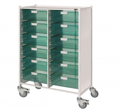VISTA 240 Trolley with 12 Double Trays [Sun-MPT242]