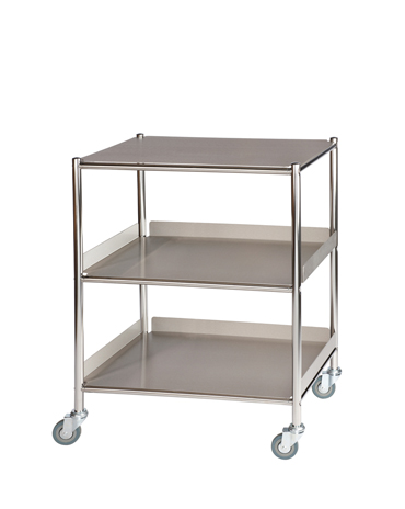 ST6 Surgical Trolleys with Stainless Steel Trays