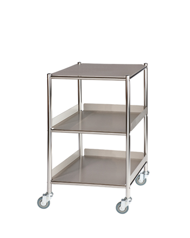 ST4 Surgical Trolleys with Stainless Steel Trays