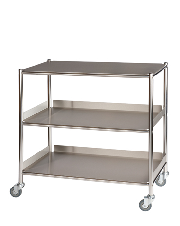 ST8 Surgical Trolleys with Stainless Steel Trays