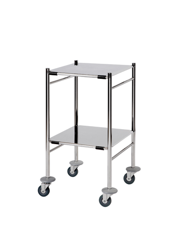 ST4 Surgical Trolleys - Stainless Steel (Mirror Polished)