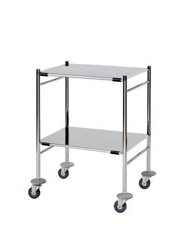 ST6 Surgical Trolleys - Stainless Steel (Mirror Polished)