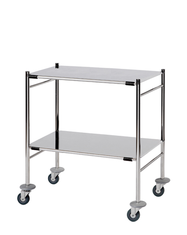 ST7 Surgical Trolleys - Stainless Steel (Mirror Polished)