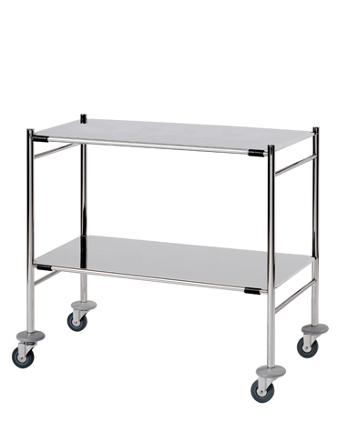 ST9 Surgical Trolleys - Stainless Steel (Mirror Polished)