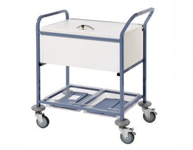 Records Transfer Trolley - With Folding Locking Top [Sun-MRTTL1]