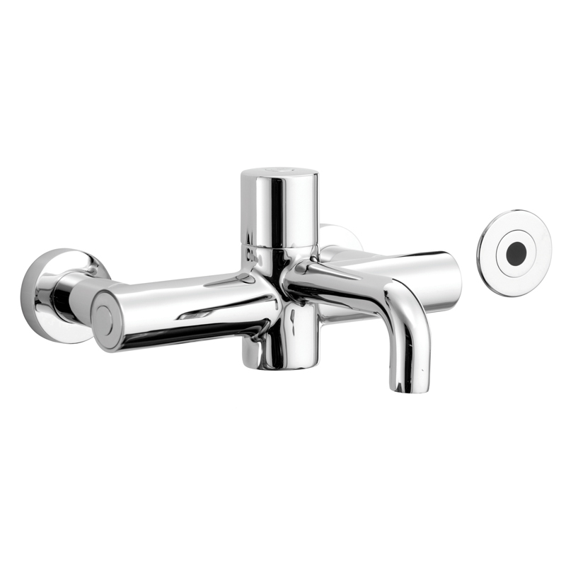 HTM64 Electronic Thermostatic Mixer Tap with Time Flow Sensor [Sun-TAP15]