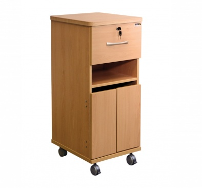 Bedside Cabinet with Locks - Laminate Faced MDF Material [Sun-CBHBC2-LFMDF-LOCKS]