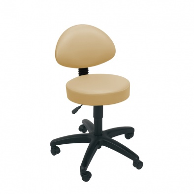 Gas Lift Stool, Back Rest [Sun-STO4]