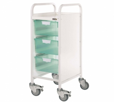 VISTA 30 Trolley with 3 Double Trays [Sun-MPT6]