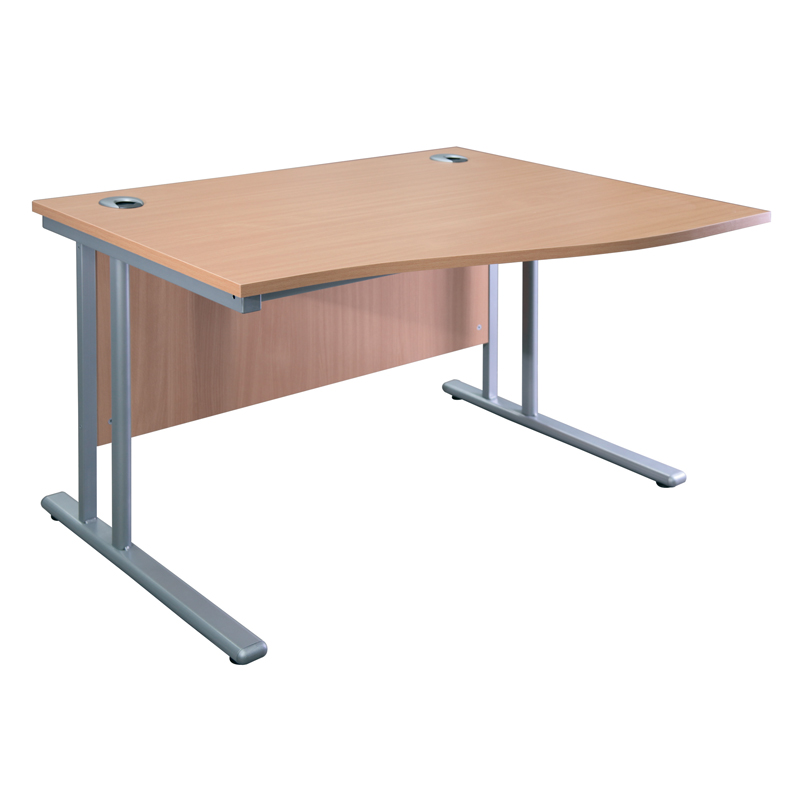 Wave Desk (Right Hand)