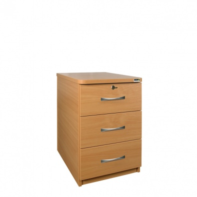 Bedside Cabinet with Lock [Sun-CBBC3-MFC-LOCK]