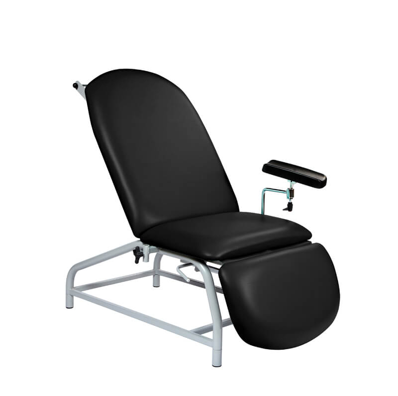 Fixed Height Reclining Phlebotomy Chair - 4 Adjustable Feet [SUN-PHLEB1]