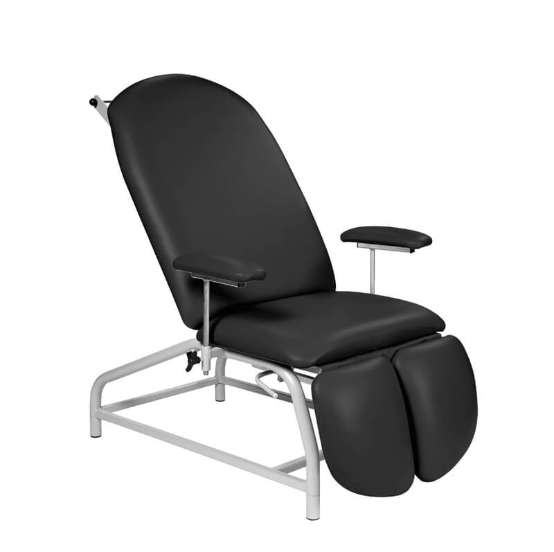 Fixed Height Reclining Treatment Chair - Adjustable Feet [SUN-TREA1]
